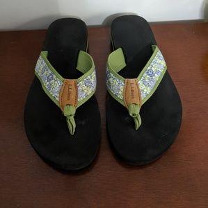 L.L. Bean flip flops